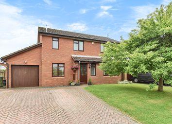Thumbnail 4 bed detached house for sale in Brizen Lane, Leckhampton, Cheltenham