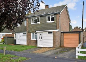 Thumbnail 3 bedroom semi-detached house for sale in Whyke Close, Chichester, West Sussex