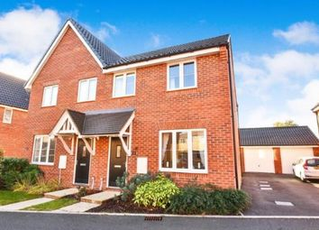 Thumbnail 3 bed semi-detached house for sale in Attleborough, Norwich, Norfolk
