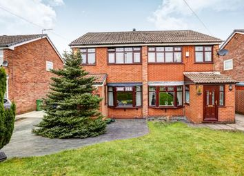 Thumbnail 3 bed semi-detached house for sale in Staley Hall Road, Stalybridge, Cheshire, United Kingdom