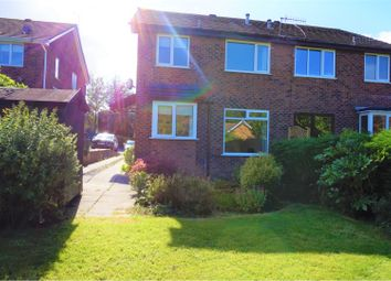 Thumbnail 1 bed semi-detached house for sale in Partington Court, Glossop