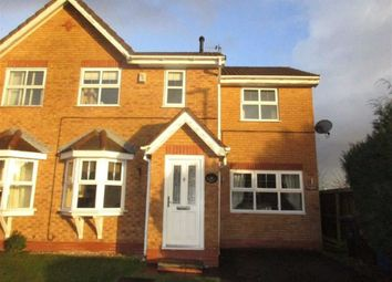 Thumbnail 3 bed semi-detached house for sale in Stavesacre, Leigh, Lancashire