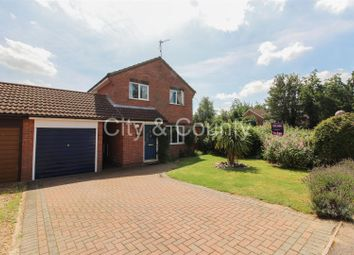Thumbnail 4 bed detached house for sale in Wycliffe Grove, Werrington, Peterborough