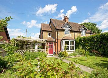 Thumbnail 3 bed semi-detached house for sale in Cannonbury Villas, Lambs Green, Rusper, Horsham