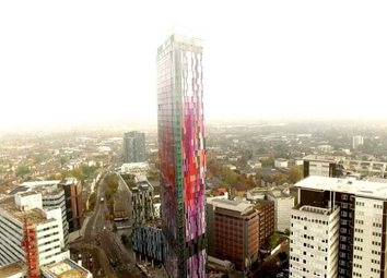 Thumbnail 1 bed flat for sale in Saffron Tower, Saffron Square, Croydon