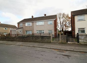 Thumbnail 3 bed semi-detached house for sale in Upton Place, Beddau, Pontypridd