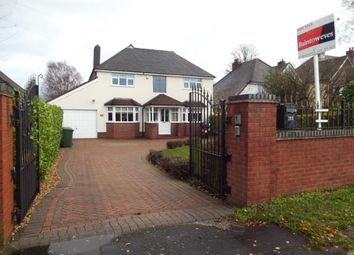 Thumbnail 4 bedroom detached house for sale in Chester Road, Streetly, Sutton Coldfield, West Midlands