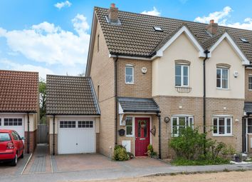 Thumbnail 3 bed end terrace house for sale in Bryson Close, Westoning