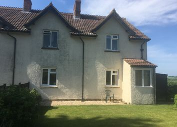 Thumbnail 2 bed semi-detached house to rent in Cricket Malherbie, Ilminster