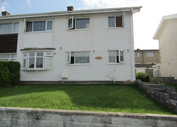 Thumbnail 2 bed semi-detached house for sale in Dolfain, Ystradgynlais, Swansea, City And County Of Swansea.