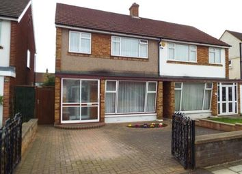 Thumbnail 3 bed semi-detached house for sale in Hainault, Essex