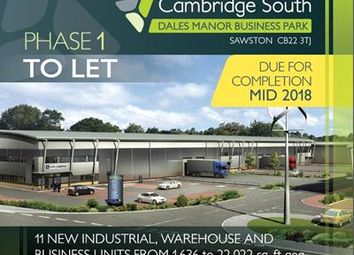 Thumbnail Light industrial to let in Cambridge South, Dales Manor Business Park, Sawston, Cambridge, Cambridgeshire