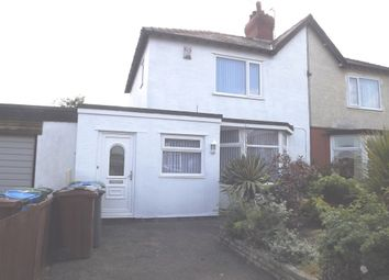 Thumbnail 3 bed semi-detached house to rent in Ripon Road, Lytham St. Annes