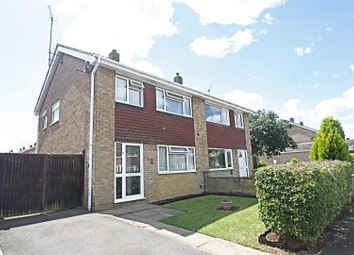 Thumbnail 3 bedroom semi-detached house for sale in Wye Close, Bletchley, Milton Keynes