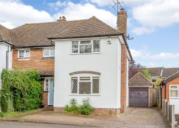 Thumbnail 3 bed semi-detached house for sale in Devonshire Road, Harpenden, Hertfordshire
