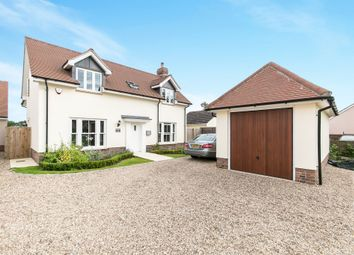 Thumbnail 4 bed detached house for sale in The Street, Bradfield, Manningtree