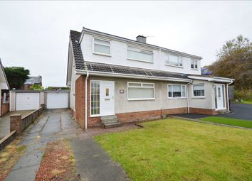 Thumbnail 3 bed semi-detached house for sale in Asquith Place, Mossend, Bellshill