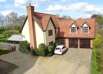 Thumbnail 5 bedroom detached house for sale in Stonham Road, Mickfield, Stowmarket