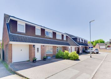 Thumbnail 4 bedroom end terrace house for sale in Greengage Rise, Melbourn, Royston