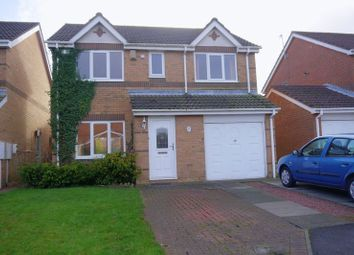 Thumbnail 4 bed detached house for sale in Meadowbank Drive, Choppington