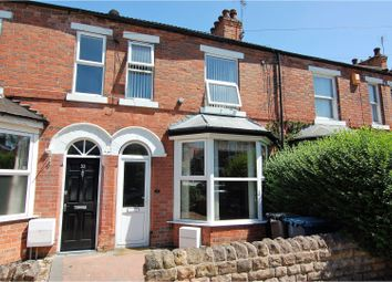 Thumbnail 2 bed terraced house for sale in Byron Road, West Bridgford