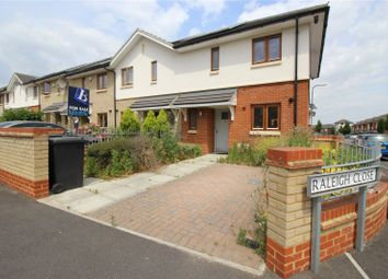 Thumbnail 3 bed end terrace house to rent in Raleigh Close, Gravesend, Kent