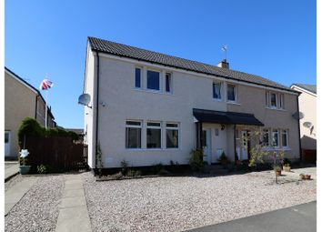 Thumbnail 3 bed semi-detached house for sale in Castlehill, Doune