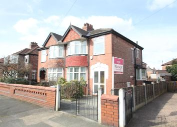 Thumbnail 3 bedroom semi-detached house for sale in Haig Road, Stretford, Manchester