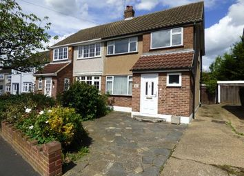 Thumbnail 3 bed semi-detached house for sale in Hampshire Road, Hornchurch