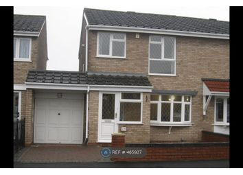 Thumbnail 3 bed semi-detached house to rent in Burnsall Close, Birmingham