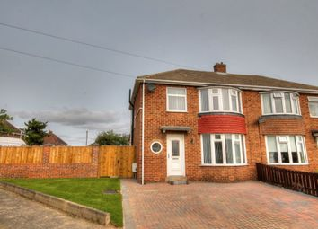 Thumbnail 3 bed semi-detached house for sale in Langdon Road, Westerhope, Newcastle Upon Tyne