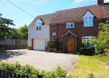 Thumbnail 4 bed semi-detached house for sale in Crown Street, Colchester