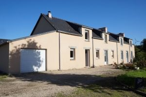 Thumbnail 4 bed longère for sale in Plouye, Finistere, 29690, France