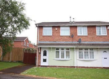 Thumbnail 2 bed semi-detached house for sale in Lancaster Way, Nottingham