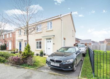 Thumbnail 3 bed semi-detached house for sale in Thomas Hill Close, Llanfoist, Abergavenny