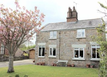 Thumbnail 3 bed cottage for sale in Church Lane, Gwernaffield, Flintshire