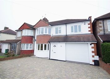 Thumbnail 4 bed semi-detached house for sale in Onslow Drive, Sidcup