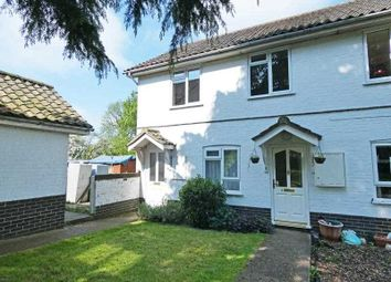 Thumbnail 3 bed maisonette for sale in Godfreys Close, Horringer, Bury St. Edmunds