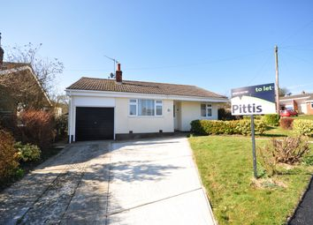 Thumbnail 2 bedroom bungalow to rent in Greenlydd Close, Niton, Ventnor