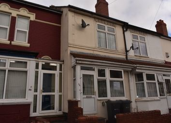 Thumbnail 2 bed terraced house to rent in Dora Road, Birmingham
