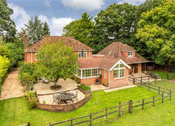 Spouts Lane, West Wellow, Hampshire SO51. 5 bed detached house for sale
