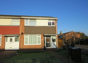 Thumbnail 3 bedroom end terrace house for sale in Great Cullings, Rush Green, Romford