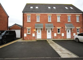 Thumbnail 3 bed town house for sale in Clos Y Coed Castan, Coity, Bridgend
