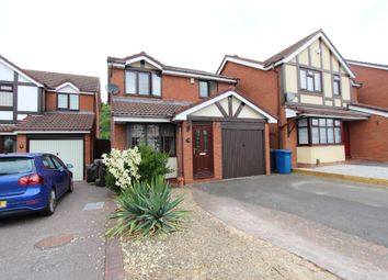 Thumbnail 3 bed detached house for sale in Hampshire Close, Tamworth