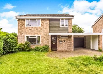 Thumbnail 4 bedroom detached house for sale in Widecombe Close, Bedford