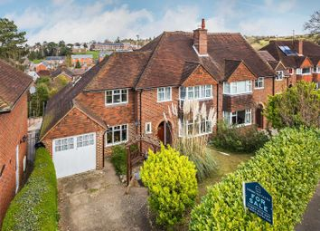 Thumbnail 4 bed semi-detached house for sale in Pewley Way, Guildford, Surrey