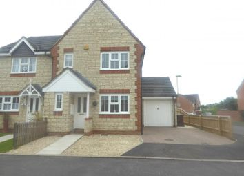 Thumbnail 3 bedroom semi-detached house for sale in Century Close, Faringdon