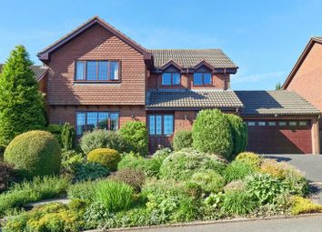 Thumbnail 4 bed detached house for sale in The Heights, Leek, Staffordshire