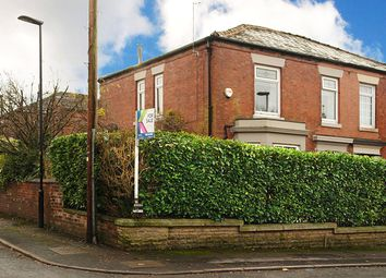 Thumbnail 4 bed semi-detached house for sale in Queen Street, Royton, Oldham, Greater Manchester