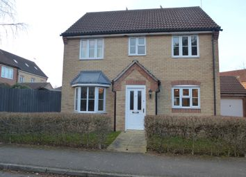 Thumbnail 4 bed detached house for sale in Elgar Way, Stamford